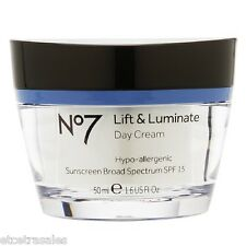 Boots No7 Lift & Luminate Day Cream SPF15  ( New in Box)