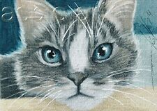ACEO print limited edition  tabby cat ragdoll  by Anna Hoff