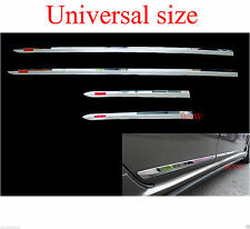 CHROME LINE SIDE DOOR CLADDING MOLDING TOYOTA HILUX VIGO CHAMP SR5 MK6 MK7 05-14