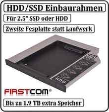 UNIVERSALE Dischi Rigidi HDD Adattatore Telaio di montaggio a IDE SATA 9,5mm Ultra slimline