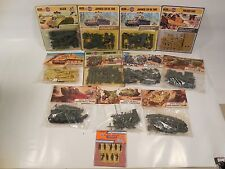 LOT OF SEALED AIRFIX HO/OO SCALE MILITARY MODEL KITS & MINIATURES MIP TANK