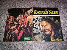 ALBUM IL CORSARO NERO ED.PANDA PLAY 1976 COMPLETO BELLO NO CALCIATORI PANINI