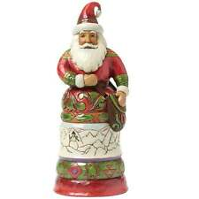 Jim Shore Heartwood Creek Kindly Kris Kringle Regal Santa With Bag BNIB 4042964