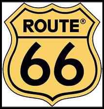 Adesivi barche camper fuoristrada  cm 38x40 Camper 4x4 nautica logo route 66 usa