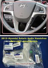 For 2012 ~ Hyundai Accent Solaris Steering Wheel Remote Control Switch 6PCS 1SET