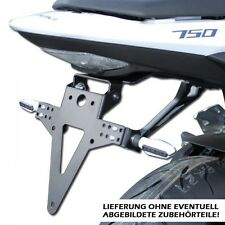 Kennzeichenhalter Suzuki GSR 750 C5 L1/L2/L3/L4,verstellbar,adjustable tail tidy