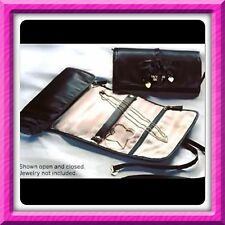 VICTORIA'S SECRET FOREVER ANGEL LUXE JEWELRY ROLL TRAVEL CASE BAG GIFT BOX $65