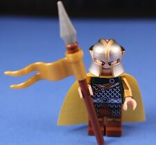 LEGO® The HOBBIT™ Mirkwood™ Custom ELF ROYAL GUARD Deluxe Minifigure + CAPE!