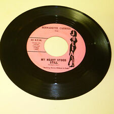 TEENER ROCK & ROLL 45RPM RECORD - BERNADETTE CARROLL - JULIA 1106