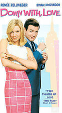 Down With Love NEW VHS Ewan McGregor Rene Zellweger