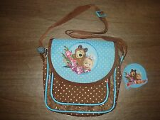 Small bag kindergarten or primary school age Masha and  the Bear /Masha i Medved