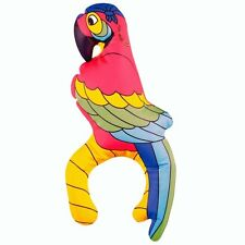 PIRATE PARTY INFLATABLE PARROT 28CM BLOWUP FANCY DRESS 28CM