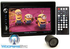 "pk POWER ACOUSTIK PD-651B 2-DIN 6.2"" TV CD DVD MP3 BLUETOOTH USB SD + CAMERA NEW"