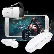 VR BOX Virtual Reality 3D Games Glasses Bluetooth Remote Control for Smartphone