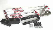 "K1500 98 LIFT KIT FORGED 1""-3"" TORSION KEY 4"" LIFT BLOCKS DOETSCH TECH SHOCK 4WD"