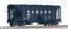 HO Kato WABASH ACF Open Side Covered Hopper Kits (3) C-10