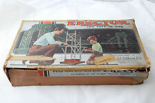 1948 No. 6 1/2 All Electric ERECTOR SET Reversing Engine & Flexible Coupling
