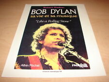 BOB DYLAN - LIKE A ROLLING STONE!!!! PUBLICITE / ADVERT