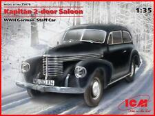 ICM 35476 Kapitän 2-door Saloon WWII German Staff 1/35 combined shipping maqueta