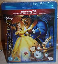 Disney's Beauty and the Beast 3D (2D Blu-ray Included, Region Free) *NEW/SEALED*