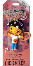 """Watchover VOODOO DOLL Keychain, THE SMILER, Frowns Are For Wimps, 3"""" Tall"""