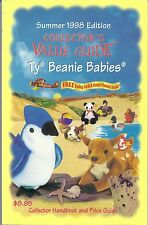 Collector's Value Guide For Ty Beanie Babies Summer 1998 Edition.