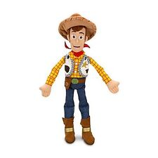 Disney Cowboy Toy Story 2 3 Kids Toys Boys Girls SHERIFF WOODY PLUSH DOLL