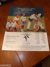 2005 Roberto Clemente Celebrity Golf Event Poster - Bernie Williams