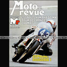 MOTO REVUE N°2319 YAMAHA 125 DTMX RS DX GILERA TG1 BENELLI TURISMO BMW R100 /7