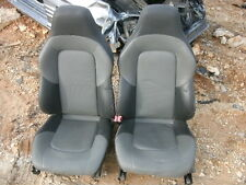 04 Chrysler Crossfire black/gray leather heated power seats