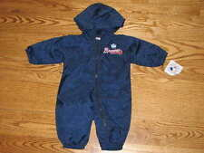NEW Baby Atlanta Braves Windsuit Coverall Baby 6/9M 6/9 Mo Boys Girls Romper