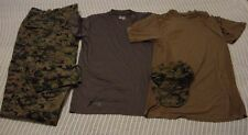 USMC Woodland Marpat Pants Lg-X-L,Cap,Under Armour Shirt & Coyote Brown Shirt