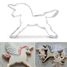 Unicorn Horse Cookies Cutter Mold Cake Biscuit Pastry Baking Mould Durable