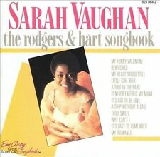 The Rodgers & Hart Songbook by Sarah Vaughan (CD, Dec-1985, Emarcy (USA)) : Sara
