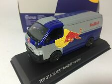 1/43 Kyosho Toyota Hiace 2012 Special Red Bull Version for KB