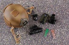 1/6 Scale PLAYHOUSE Navy Seal Team Six HELMET WITH NVG ACCESSORIES SET