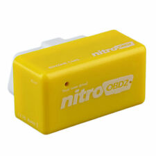 OBD2 Plug and Drive OBDII Performance Chip Tuning Box for Benzine Car Yellow J#