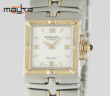 Raymond Weil Parsifal Square Two Tone Steel and Gold 9790