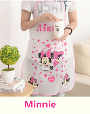 NEW Women Cartoon Cooking Kitchen Restaurant Apron Dress with Pocket Random #5
