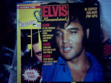 "ELVIS PRESLEY softbound uk book ""ELVIS REMEMBERED""by David Carter"