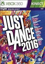 New Sealed Just Dance 2016 Xbox 360 Kinect
