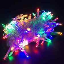 Twinkle Starry 100LED Party Decorative 8 Mode Multi-Color String Lights 33ft