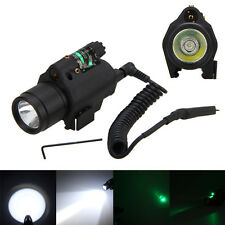 532nm Green Dot Laser/sight+ Combo LED Flashlight/Light/torch fit 4 pistol/gun