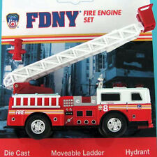 Leiterwagen Fire Department New York FDNY 13 cm lang Feuerwehr Modellauto Metall