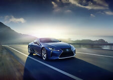 2016 LEXUS LC500H COUPE NEW A3 CANVAS GICLEE ART PRINT POSTER FRAMED