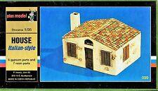 PLUSMODEL PLUS MODEL 099 - HOUSE ITALIAN STYLE - 1/35 RESIN/CERAMIC KIT
