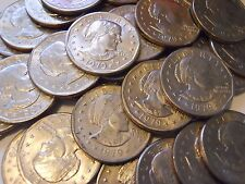Lot of 10 Susan B Anthony Silver Dollars All 1979-D SBA $1 Coin Hoard!