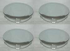 "4 CAP DEAL 1991-1995 FORD MUSTANG PONY CHROME WHEEL RIM 6-3/4"" CENTER CAP 941517"
