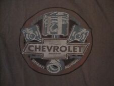 Chevrolet Chevy Detroit Michigan United States Trusted Heritage Gray T Shirt M