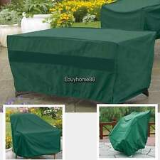Rectangular Furniture Cover Outdoor Patio Table Chairs Waterproof 106 x 71 x 35""